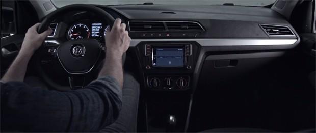 Volkswagen mostra painel do novo Gol em teaser (Foto: Reprodução)