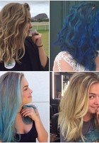 Lua Blanco muda cabelo de novo e fica loira: 'Profissão requer loucuras'