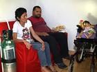 Homem deixa emprego para cuidar da mulher e da filha doentes em Goiás