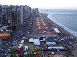 Evento reúne cerca de um milhão de pessoas nas edições anteriores (Foto: Comunicação da Arquidiocese de Fortaleza/Divulgação)