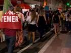Vitória tem protesto contra Temer
