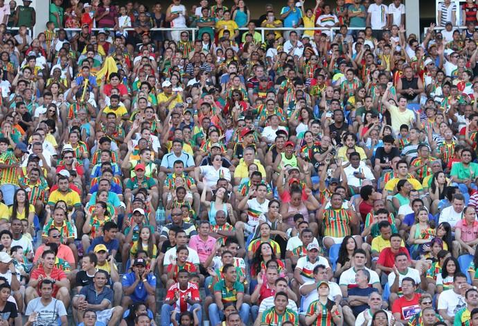 Torcida do Sampaio foi show à parte do Tricoolor na Série B do Brasileiro (Foto: De Jesus/O Estado)