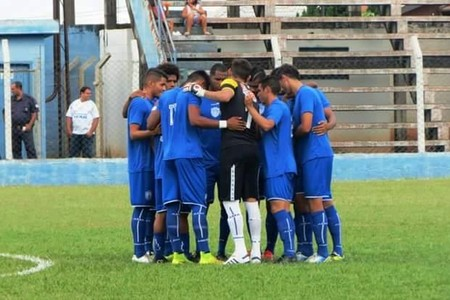 Jogadores do Monte Azul (Foto: Reprodução/Facebook)