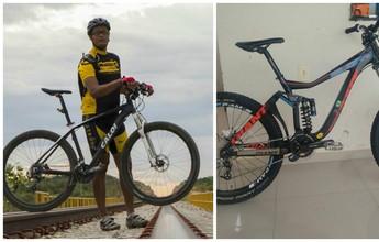 """Carteiro ciclista de Salgueiro tem duas bikes furtadas. """"É muito triste"""", lamenta"""