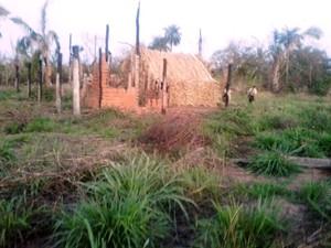 Polícia de MT investigou região de Renecheru, onde foi encontrada pista clandestina. (Foto: Assessoria / Polícia Civil)