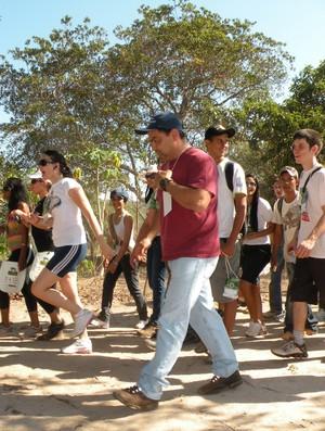 Caminhada da Natureza em Rondonópolis (Foto: Matusalem Teixeira/Assessoria)