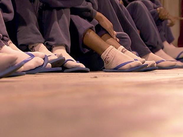 80% dos internos da Fundação Casa são dependentes de drogas ilícitas (Foto: Reprodução/TV Globo)