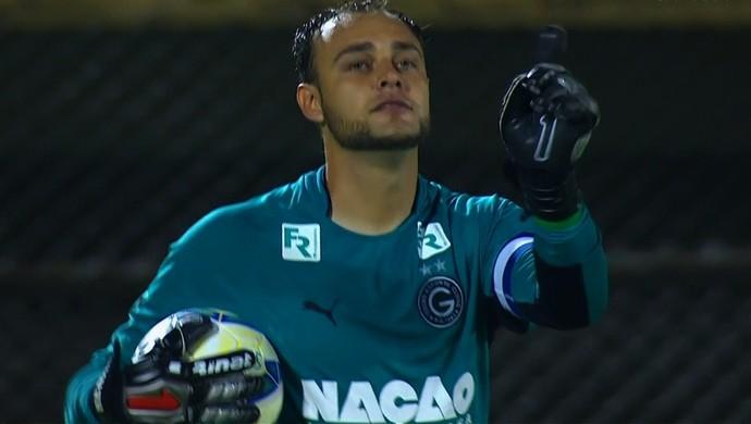 Renan, goleiro do Goiás (Foto: Reprodução/SporTV)