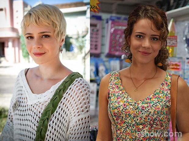 Leandra Leal deixou o cabelo crescer e adotou a cor natural do fios (Foto: Império / TV Globo)