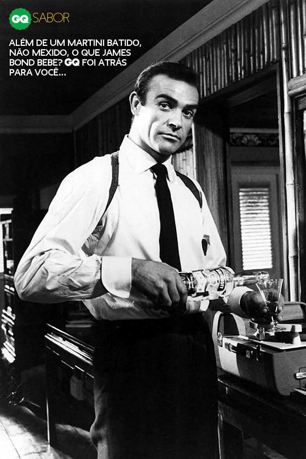 Connery, que começou a bebedeira deslavada nesses anos todos de Bond (Foto: Divulgação)