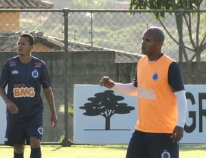 Amaral, treino Cruzeiro (Foto: Tarcísio Badaró / Globoesporte.com)