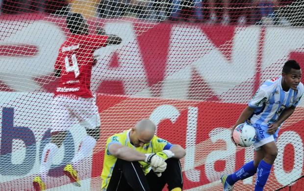 juan gol inter lajeadense centenário farroupilha gauchão (Foto: Alexandre Lops/Divulgação Inter)