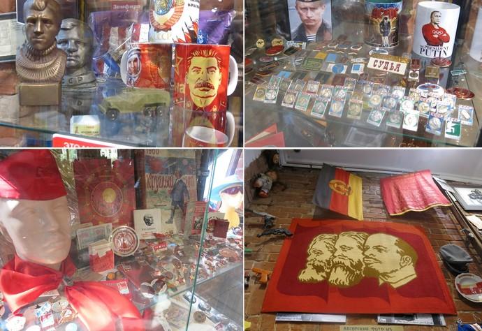 Misha museu soviético Kazan Copa das Confederações (Foto: Jorge Natan)