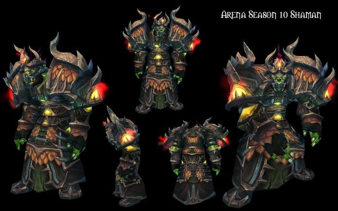Armaduras exageradas de Warcraft (Foto: Divulgação/Blizzard)