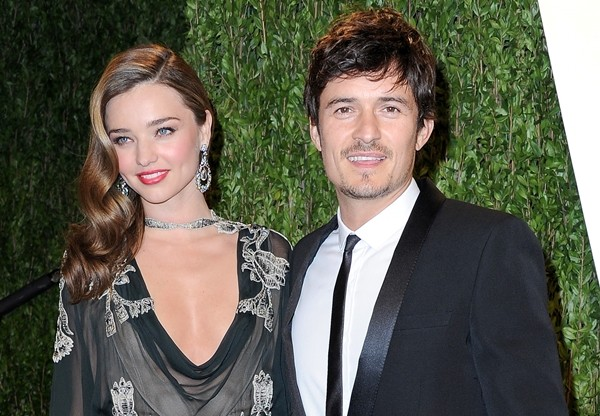 Miranda Kerr e Orlando Bloom (Foto: Getty Images)