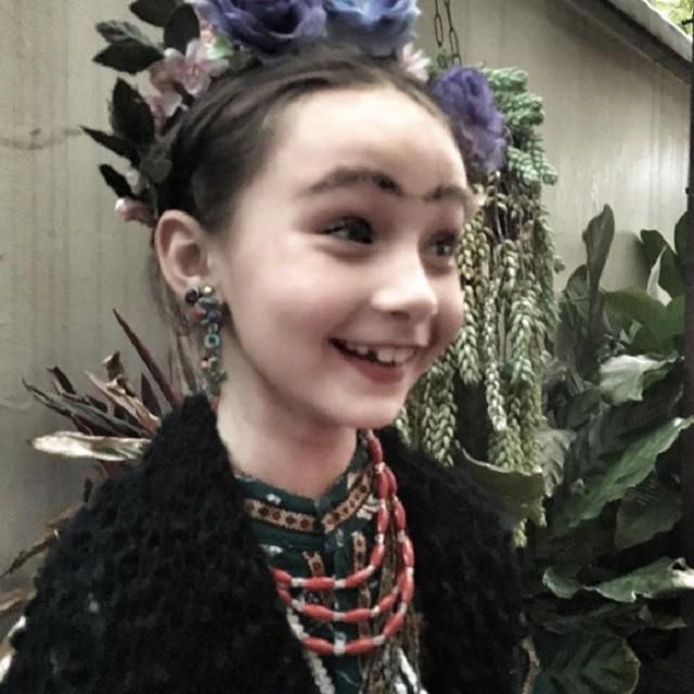 Nina, filha de Débora Falabella (Foto: Reprodução/Instagram)