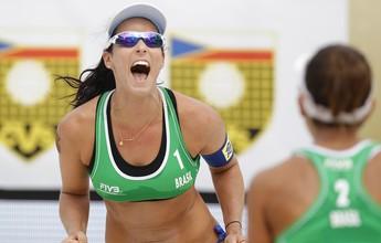Ágatha e Bárbara superam a gigante Sarah Pavan e faturam título em Praga
