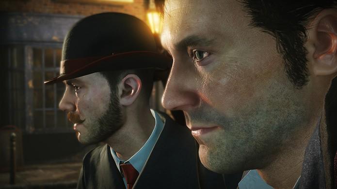 Watson e Sherlock e seus visuais de atores de Hollywood (Foto: Divulgação/Frogware)