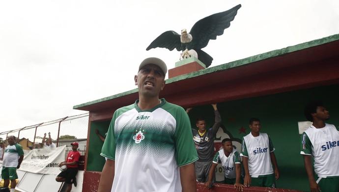 Lecheva acredita em um carma que atrapalha a Tuna na hora de fazer os gols (Foto: Tarso Sarraf/O Liberal)