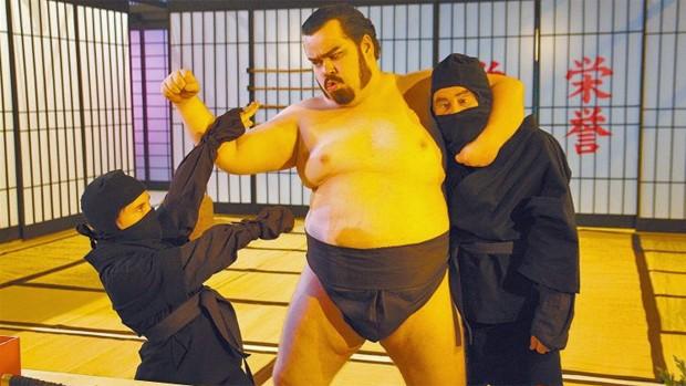 O Guerreiro Didi e a Ninja Lili (Foto: reprodução/divulgação)