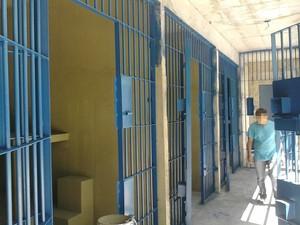 Sinpoljuspi visitou instalações da nova unidade prisional do Piauí (Foto: Divulgação/Sinpoljuspi)