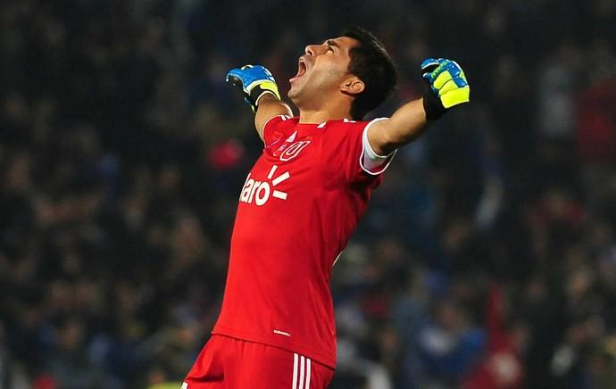 Johnny Herrera La U (Foto: AFP)