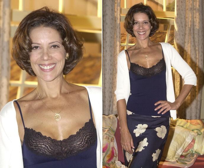 Como Esmeralda, personagem do interior que viveu em Coração de Estudante (2002) (Foto: Globo/João Miguel Júnior)