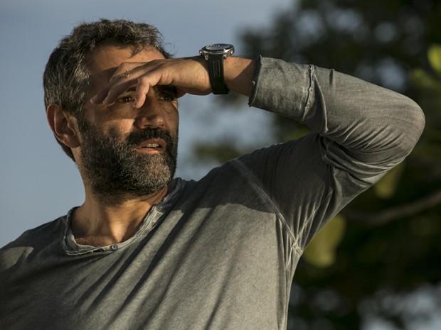 Miguel é um aventureiro que gosta de solidão (Foto: Inácio Moraes/Gshow)