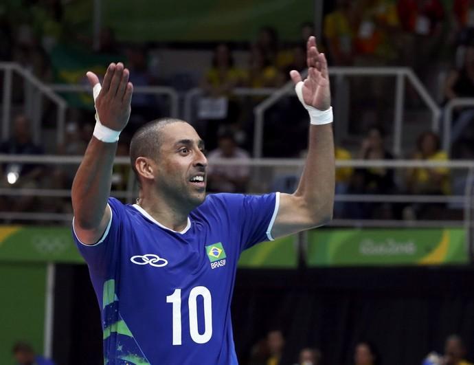 Final - Brasil x Itália - Rio 2016 - Serginho (Foto: Reuters/Yves Herman )