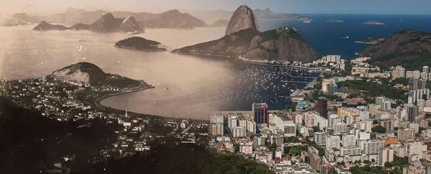 Fotógrafo mescla fotos do Rio de hoje  com clique antigos de Augusto Malta (Augusto Malta e Marcello Cavalcanti / Divulgação)