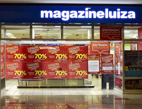 Magazine Luiza (Foto: Lucas LACAZ RUIZ / A13 / Ag. O Globo)