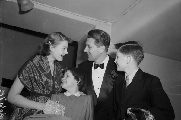 Vanessa, Lynn, Corin e Michael Redgrave (Foto: Getty Images)