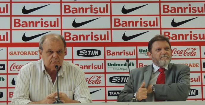 Vitorio piffero Luiz Fernando Costa Inter  (Foto: Tomás Hammes/GloboEsporte.com)