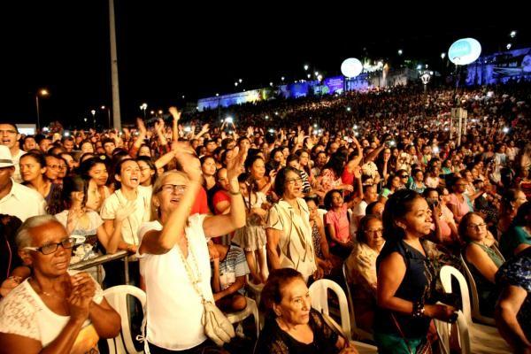 Público na Praça Maria Aragão, em São Luís-MA (Foto: Honório Moreira/ Prefeitura de São Luís)