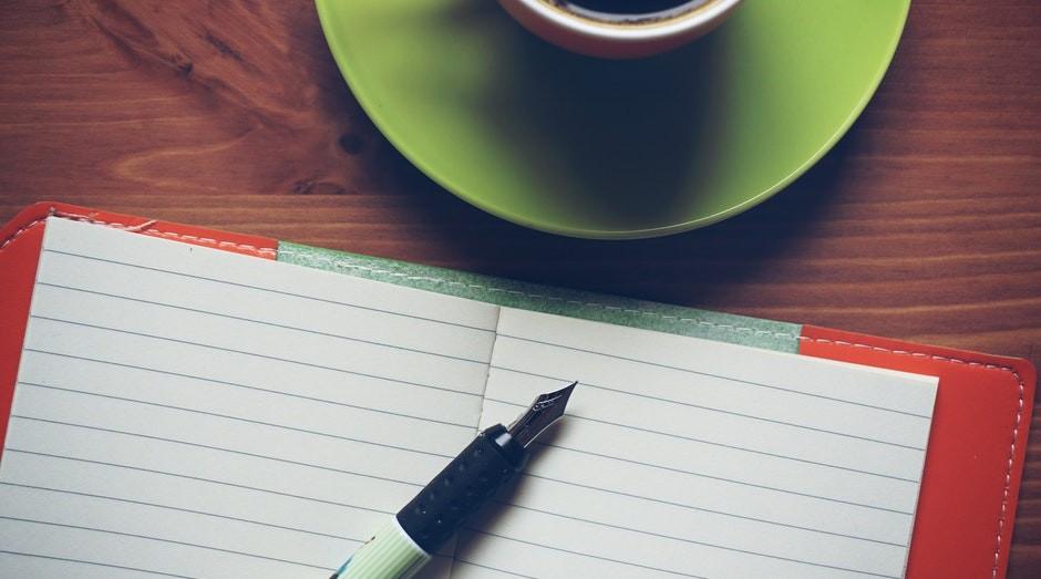 carta caderno mensagem gestao  (Foto: Pexels)