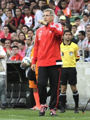 Oswaldo de oliveira,  Fluminense X Flamengo (Foto: Gilvan de Sousa / Flamengo)