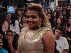 'Comecei cantando 'O amor e o poder' no banheiro', revela Gaby Amarantos