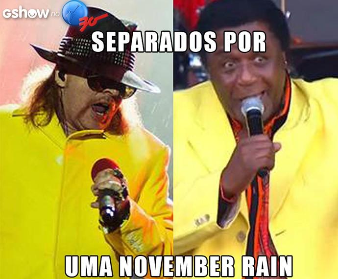 Separados por um November Rain