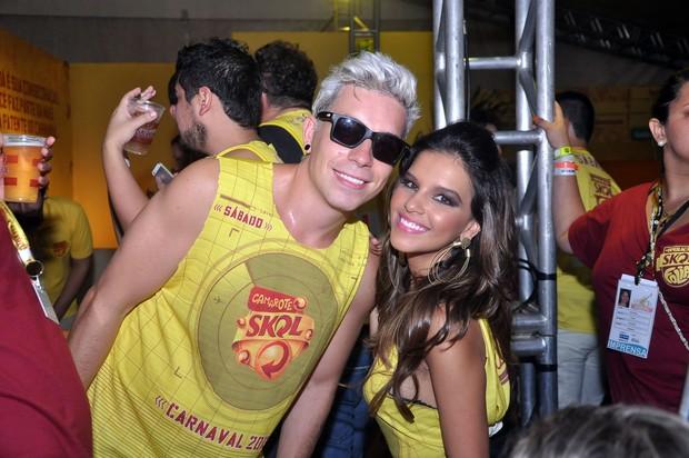 Di Ferrero e Mariana Rios (Foto: Joilson Cesar/AgHaack)