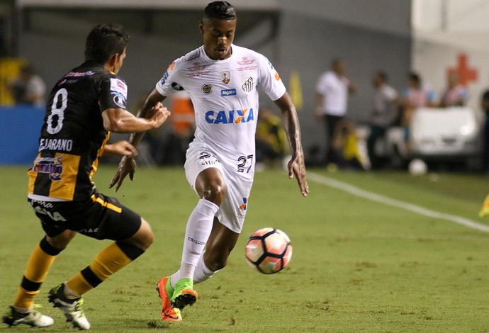 santos x the strongest bruno henrique (Foto: Lucas Baptista/Futura Press)