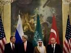 EUA, Rússia, Turquia e Arábia Saudita começam diálogo sobre Síria