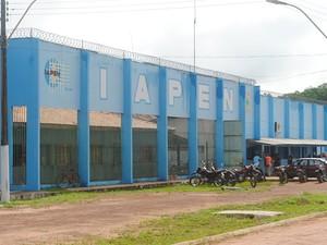 Instituto de Administração Penitenciária do Amapá (Iapen) (Foto: Adson Rodrigues/TJAP)