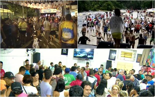 Programação carnavalesca no estado do Amazonas (Foto: Bom Dia Amazônia)