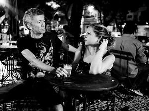 Dand M e Andréa Pinheiro, no Bar do Parque. (Foto: Divulgação/ Bruno Pelerrin)
