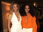 Beyoncé escolhe macacão decotado para prestigiar evento em Nova York