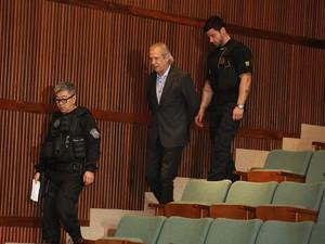 Defesa quer que José Dirceu seja transferido para presídio (Foto: Giuliano Gomes/PR PRESS )