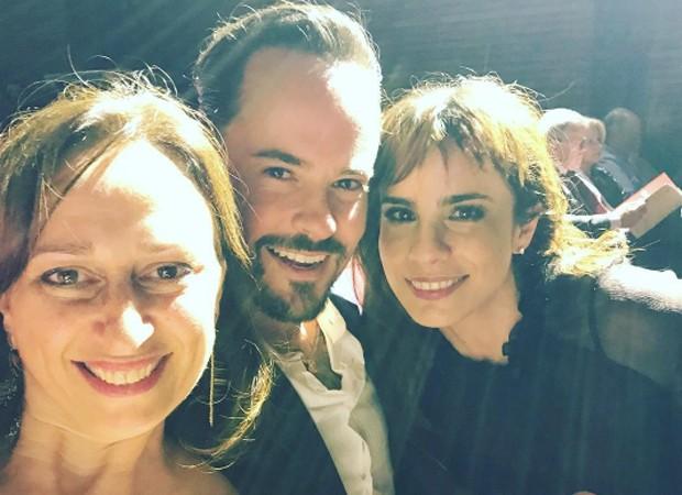 Laís Bodanzky, Paulo Vilhena e Maria Ribeiro (Foto: Reprodução/Instagram)