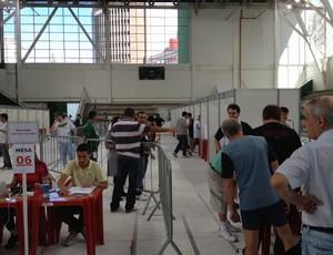 Associados elegem novos conselheiros no Palmeiras (Foto: Felipe Zito)