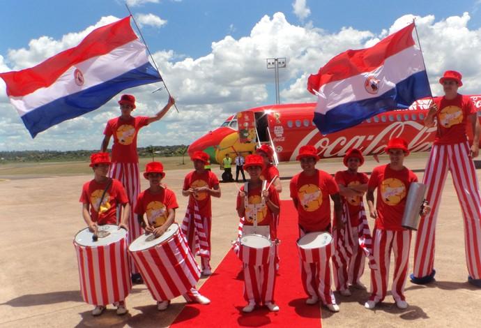 Tour da taça no Paraguai (Foto: Cassius Leitão)
