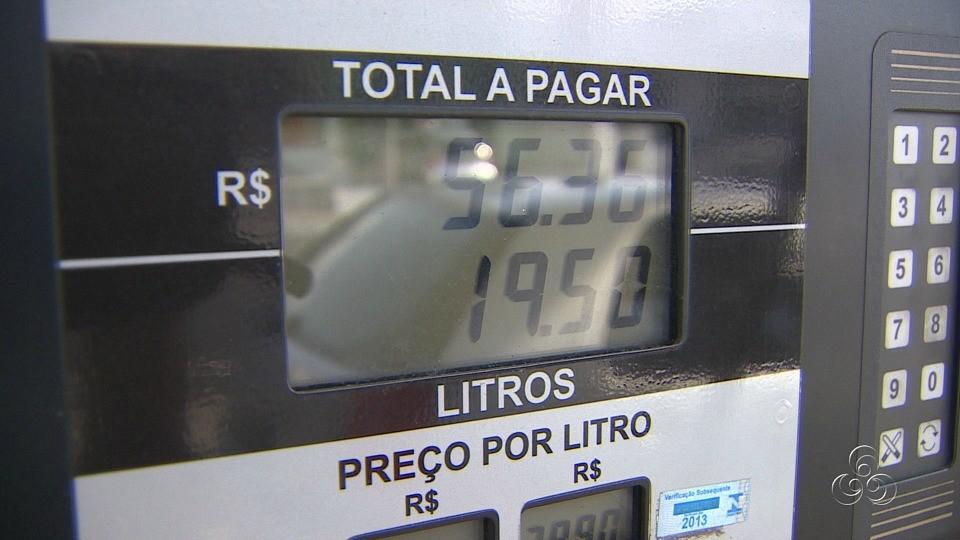 Consumidores reclamam da dificuldade de encontrar o combustível (Foto: Jornal do Amazonas)